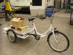 transportdreirad transportrad lastendreirad dreirad f r. Black Bedroom Furniture Sets. Home Design Ideas