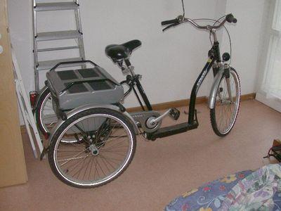 Dreirad Mit Motor Kynast Seniorenrad/dreirad Mit