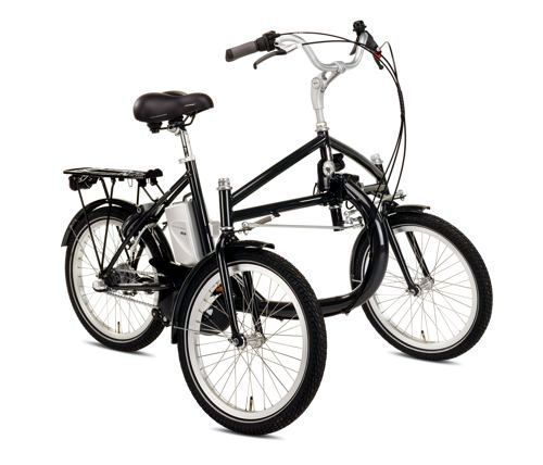 helkama e trike e bike fahrrad elektro dreirad f r. Black Bedroom Furniture Sets. Home Design Ideas