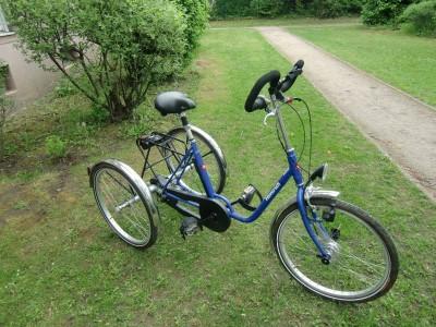 24 Zoll Dreirad Behindertenfahrrad 3 Gang Narbenschaltung Berlin
