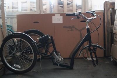 24 Zoll Elektrofahrrad E Bike Dreirad ungeprueft unvollstaendig fuer Bastler Frankfurt