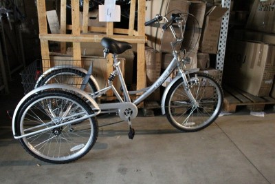 24 Zoll Erwachsenen Dreirad Shoppingrad Seniorenrad 2 Frankfurt