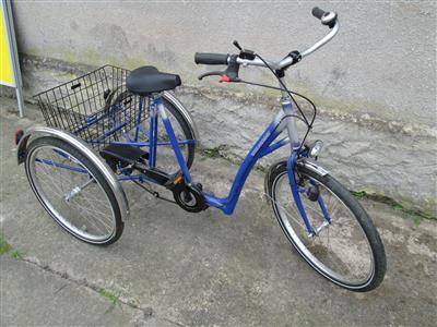 26 ZOLL Shoppingrad Dreirad fuer Erwachsene Seniorenrad Neuwertig Top Plattenburg