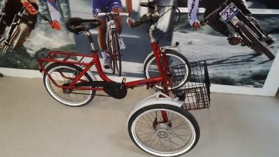 2 6 DRAISIN Dreirad SHOPI Senioren Dreirad mit einklappbaren Vorderraedern Schorndorf
