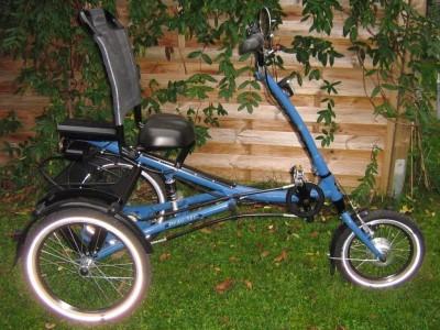 fahrrad dreirad mit e antrieb