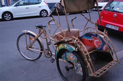 Fahrrad Rikscha Krefeld