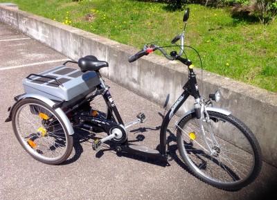 advanced pfau tec pfiff shopping dreirad fahrrad ulm. Black Bedroom Furniture Sets. Home Design Ideas