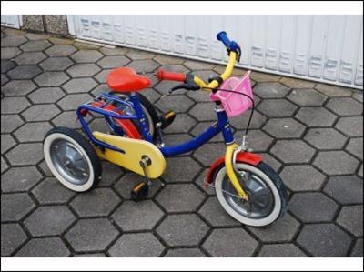 Argon 12 Zoll Behindertenfahrrad fuer Kinder Dortmund