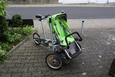 Aussergewoehliches Taga Bike fuer Familien Mainz