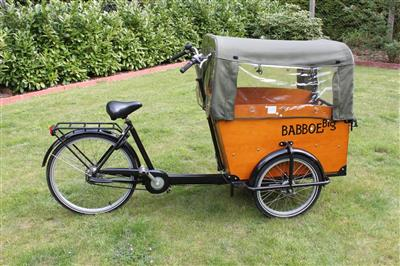 babboe big bakfiets lastenrad lastenfahrrad trike dreirad. Black Bedroom Furniture Sets. Home Design Ideas