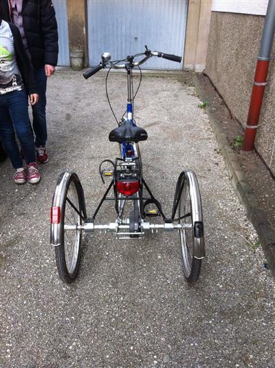 Behinderten Fahrad Dreirad Saarbruecken