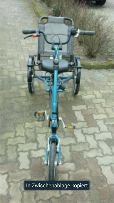 Behindertengerechtes Dreirad Berlin