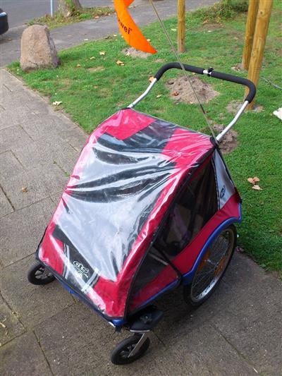 Chariot Comfort LE CTS Kinder Transport Fahrrad Anhaenger f 1 2 Kinder Muenster