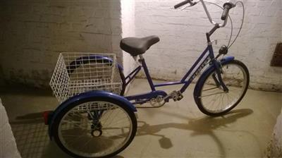 Damen Fahrrad Dreirad 24 Zoll Dreigang neuwertig Herten