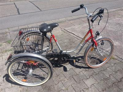 Damenfahrrad Dreirad Marke Wulfhorst Modell City sehr gut erhalten Leimen