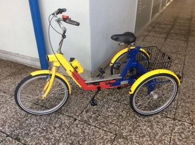 Draisin Dreirad Modellreihe TRICI unbenutzt Neupreis ueber 2 5 wie NEU Hannover