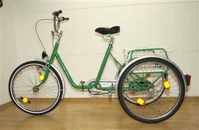 Dreirad 24 Ewachsene 3 G Kynast gruen Behindertenfahrrad Fahrrad Unterschleissheim