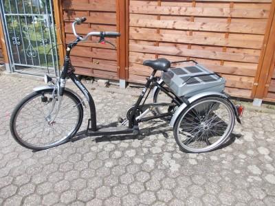 Dreirad Advanced von Pfau Tec fuer Erwachsene Behindertenfahrrad Koeln