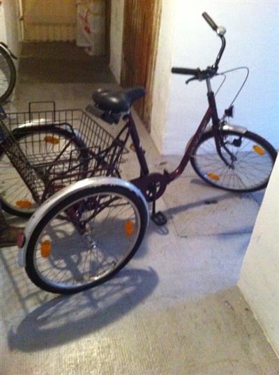 Dreirad Behindertenfahrrad Seniorenfahrrad von Kynast Karlsruhe