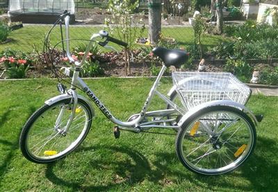 Dreirad Fahrrad fuer Erwachsene Rentner Mannheim