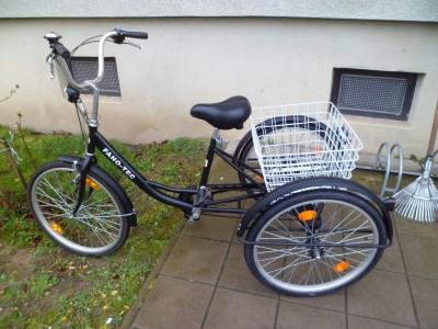 Dreirad fuer Erwachsene24 Erwachsenendreirad Senioren Rad Shopping Dreirad 11 kg Barenthin