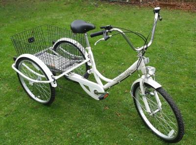 Dreirad fuer Erwachsene Fahrrad Seniorenfahrrad Erwachsenendreirad Shoppingrad Bonn