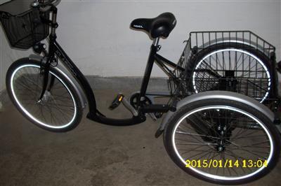 dreirad fuer erwachsene fahrrad seniorenfahrrad. Black Bedroom Furniture Sets. Home Design Ideas