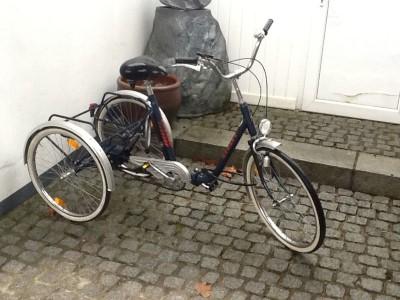 Dreirad fuer Erwachsene oder Behinderte Duesseldorf