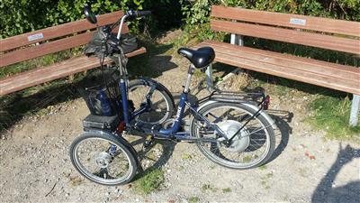 Dreirad fuer Erwachsene T Bike E Bike E Trike Frontbike Therapiefahrrad Wuppertal