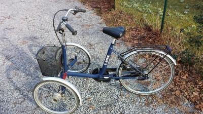 Dreirad fuer Erwachsene T Bike Therapiefahrrad Frontbike Shopi Wuppertal