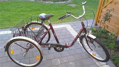 Dreirad fuer Erwachsene von Kynast Seniorenrad TOP Zustand Neumuenster