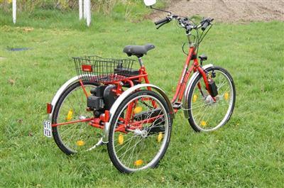 Dreirad mit Benzinmotor Alpen
