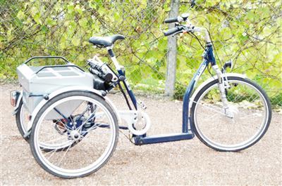 Dreirad Pedelec von Pfiff Moenchengladbach