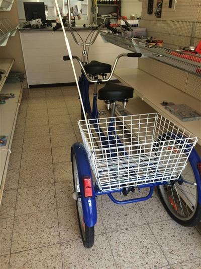 Dreirad Tandem Seniorenfahrrad von Maxirad Rodalben