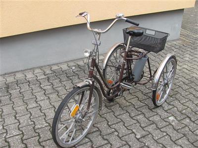 Dreirad Therapierad 3 Rad Wulfhorst 24 Zoll mit Korb gut erhalten Waghaeusel