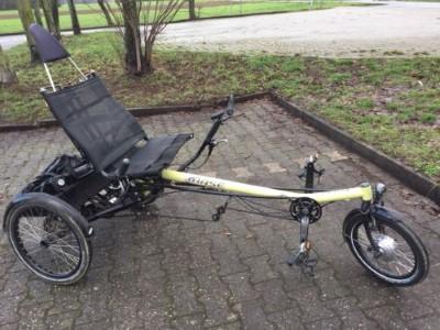 E Bike Liegedreirad Hase Bike Lepus Trike mit 14 G Rohloff Schaltung Eschborn