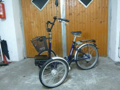 Elektrisches Huka Trike Therapeutisches Dreirad Fahrrad Trike  Gronau