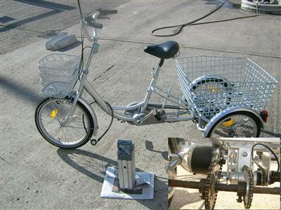 elektro dreirad neuwertig Landau