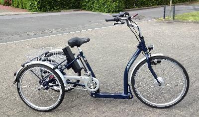 Elektro Dreirad Pfautec Napoli stahlblau  Bonn