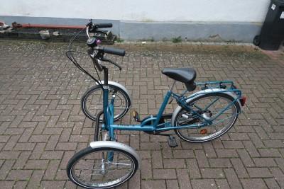 Erwachsene Dreirad T Bike mit Frontraeder im neue fertige zustand  Waghaeusel