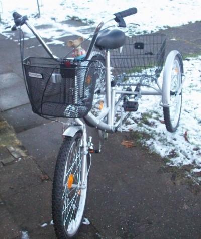 Erwachsenen Dreirad Advanced 6 Gang Shimano Schaltung bis 12 Kg Bremervoerde