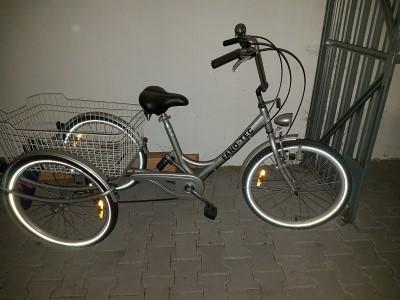 Erwachsenen Dreirad Seniorenfahrrad mit Federrahmen 24 34 6 Gang Shimano SIS neu Leinfelden Echterdingen