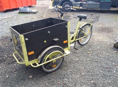 Fahrrad Baeckerfahrrad Postrad Lastendreirad Dreirad Krefeld