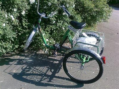 Fahrrad Dreirad fuer Erwachsene Grevenbroich