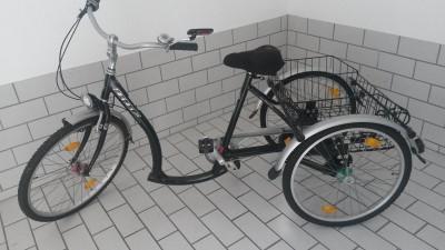 fahrrad dreirad fuer senioren barsbek archiv verkaufter. Black Bedroom Furniture Sets. Home Design Ideas