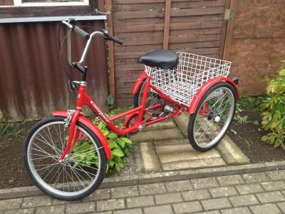 fahrrad dreirad mit 3 raedern fuer erwachsene rostock archiv verkaufter gebrauchter dreir der. Black Bedroom Furniture Sets. Home Design Ideas