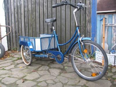 fahrrad dreirad mit ladeflaeche elze archiv verkaufter. Black Bedroom Furniture Sets. Home Design Ideas