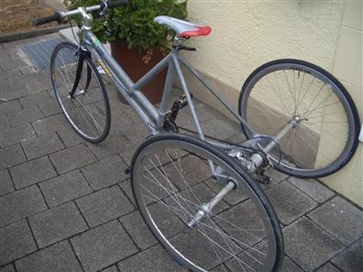 Fahrrad Rennrad 3 Rad ideal bei Gehbehinderung Artikelstandort Karlsruhe Karlsruhe