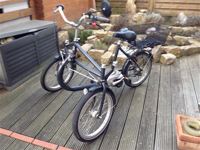 helkama e trike e bike fahrrad elektro dreirad fuer. Black Bedroom Furniture Sets. Home Design Ideas