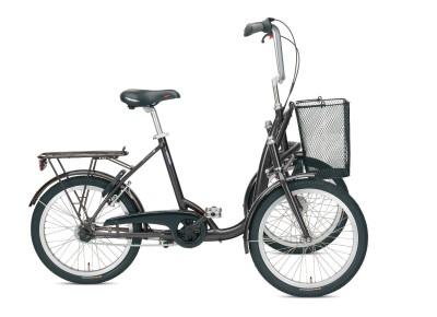 Helkama Trike 3 S Dreirad fuer Erwachsende grau  Herten